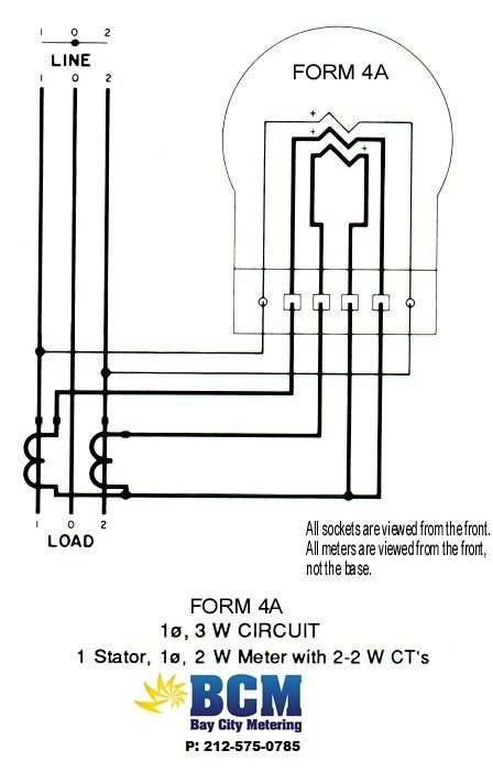1P3WBCCTwiringdiag wiring diagrams bay city metering nyc itron sentinel meter wiring diagram at reclaimingppi.co