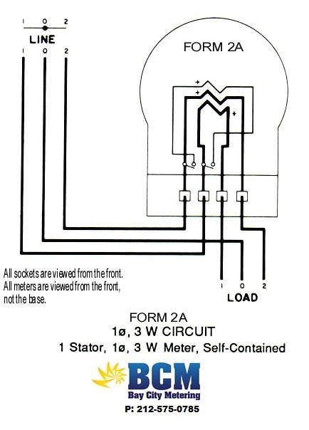 wiring diagrams - bay city metering nyc single phase electric meter wiring diagram 3s meter wiring #12