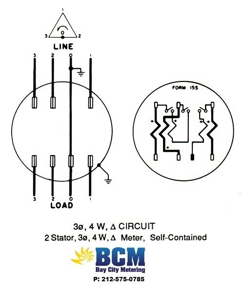 boat amp meter wiring diagram wiring diagrams - bay city metering nyc 3s meter wiring