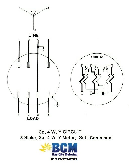 wiring diagrams bay city metering nyc rh baycitymetering com 480 Volt 3 Phase Diagram 240 Single Phase Wiring Diagram