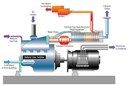 Combined Heat and Power Co-generation